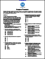 Computer Processors (Manhattan Prep Logic Games)