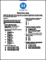 Trainee Game (Easy, Manhattan LSAT Logic Games)