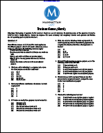 Trainee Game (Hard, Manhattan LSAT Logic Games)