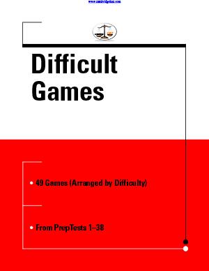 ace the lsat logic games pdf